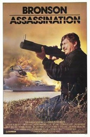 Assassination (1987 film) - Theatrical release poster