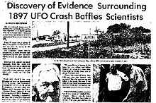 A history of the roswell incident in the united states