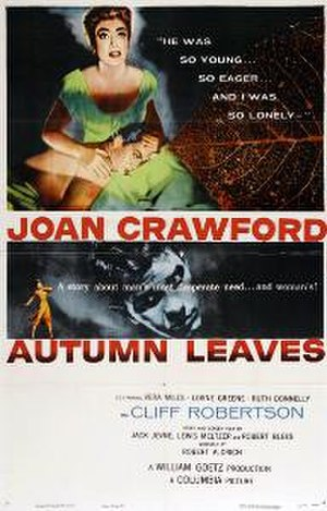 Autumn Leaves (film) - Original theatrical poster
