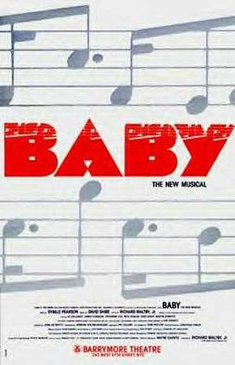 Baby (musical) - Original Broadway poster