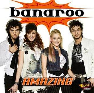 Amazing (Banaroo album) - Image: Banaroo amazing a
