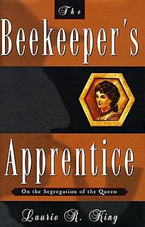 <i>The Beekeepers Apprentice</i>