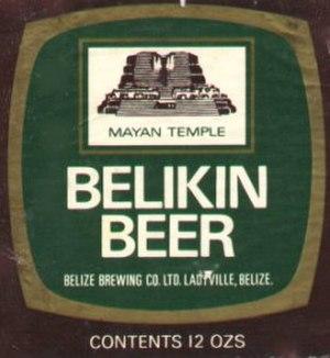 Belikin - Belikin label