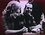Bob Ferguson and Dolly Parton at a RCA Records contract signing.