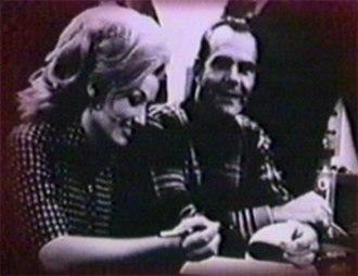 Bob Ferguson (musician) - Bob Ferguson and Dolly Parton at RCA Records, signing her initial recording contract for RCA, 1967.