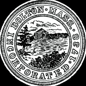 Bolton, Massachusetts - Image: Bolton MA seal