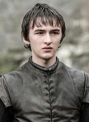 Bran Stark - Isaac Hempstead Wright as Bran Stark