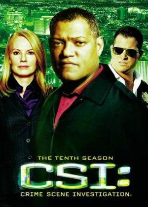 CSI: Crime Scene Investigation (season 10) - Season 10 U.S. DVD cover