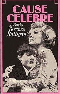 <i>Cause Célèbre</i> (play) radio play by Terence Rattigan