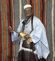 The griot Cheick Hamala Diabate (2008).