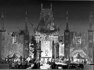 Raymond M. Kennedy - Kennedy's Rendering of The Chinese Theater.
