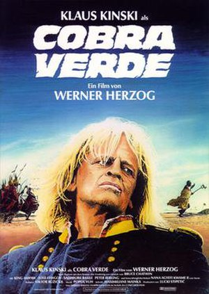 Cobra Verde - Theatrical release poster