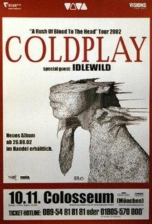 Coldplay Tour Dates  Uk
