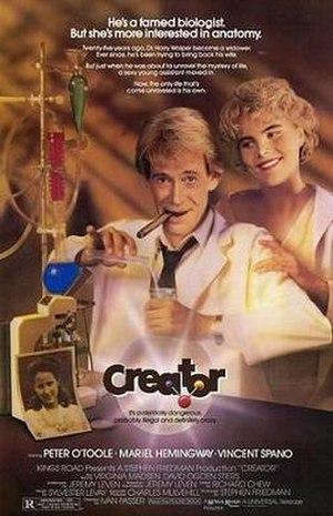 Creator (film) - Theatrical release poster