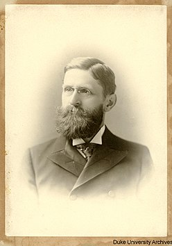 John Franklin Crowell, Duke football's first head coach Crowell.jpg