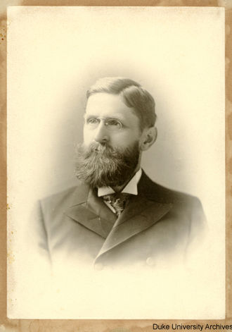 John Franklin Crowell - John Franklin Crowell, Courtesy of the Duke University Archives