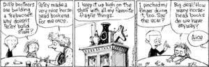Cul de Sac (comic strip) - Cul de Sac strip (February 5, 2008)