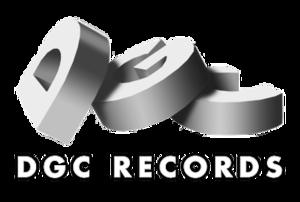 DGC Records - Image: DGC Records logo, 1990