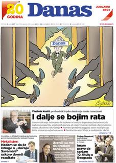 <i>Danas</i> (newspaper) Serbian newspaper