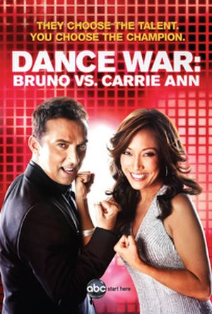 Dance War: Bruno vs. Carrie Ann - Image: Dancewar poster