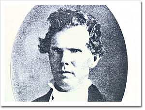 Rock Castle (Hendersonville, Tennessee) - Picture of Daniel Smith Donelson, Daniel Smith's grandson