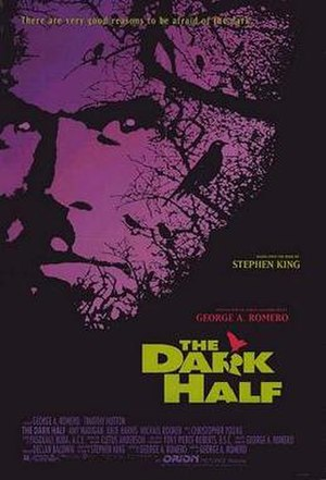 The Dark Half (film) - Original 1993 theatrical poster