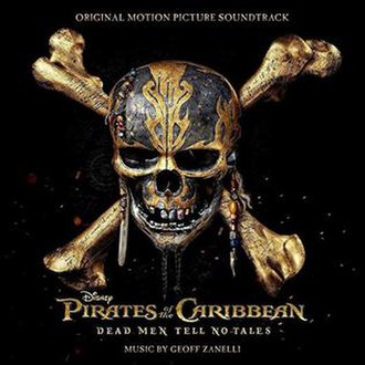 Pirates of the Caribbean: Dead Men Tell No Tales (soundtrack) - Image: Dead Men Tell No Tales (album cover)