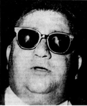 Dean Andrews Jr. - Dean Andrews Jr.  during his perjury trial  August 1967