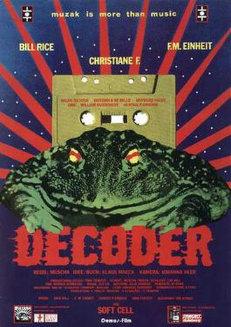 Decoder (film) - Theatrical release poster
