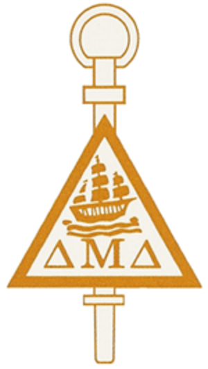 Delta Mu Delta - Image: Delta Mu Delta Logo