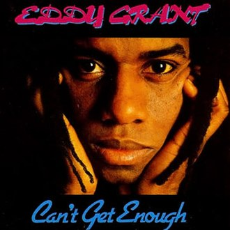 Can't Get Enough (Eddy Grant album) - Image: Eddy Grant Cant Get Enough