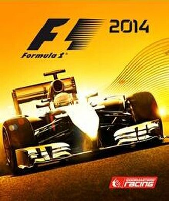 F1 2014 (video game) - Image: F1 2014 cover