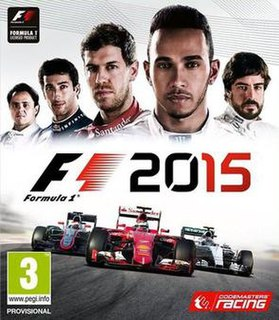<i>F1 2015</i> (video game) racing video game