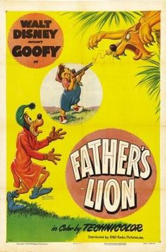 Father's Lion - Theatrical release poster