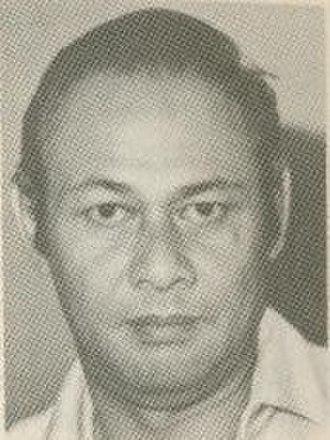 Zainal Abidin (actor) - Abidin, mid-1970s