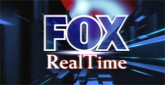 Fox News Live - Fox Real Time logo on Fox News Channel