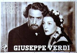 <i>Giuseppe Verdi</i> (film) 1938 film by Carmine Gallone