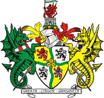 Arms of Glyndwr District Council