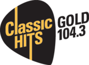 Gold 104.3 - Logo used until 2015