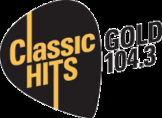 Gold 104.3 - Logo used until 2015