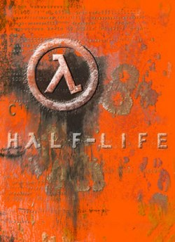 The box art for Half-Life