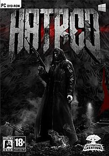 <i>Hatred</i> (video game) Shooter game with an isometric perspective