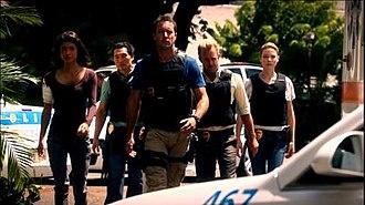 Hawaii Five-0 (2010 TV series, season 2) - Image: Hawaii Five 0 Season 2 cast