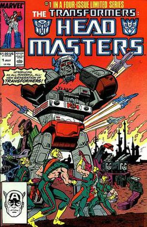 Transformers (comics) - Image: Headmasters
