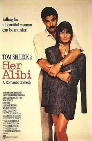 Her Alibi - Theatrical release poster