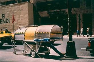 Krzysztof Wodiczko - Homeless Vehicle, 1988-89, New York, NY