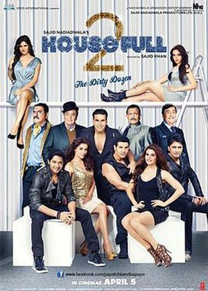 Housefull 2 - Theatrical release poster