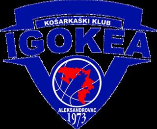 KK Igokea Basketball club in Laktaši, Bosnia and Herzegovina