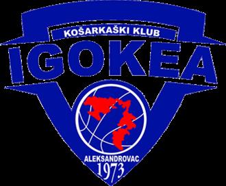 KK Igokea - Image: Igokea logo