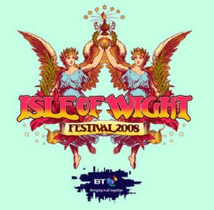 Isle of Wight Festival 2008 - Image: Isle of Wight Festival 2008 logo
